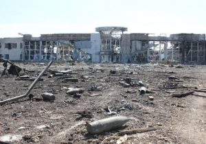 Продолжаются обстрелы украинских силовиков и атаки на донецкий аэропорт