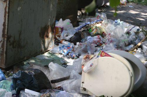 Запорожские коммунальщики снова закрыли глаза на мусор во дворах