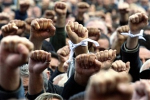 В Запорожье снова протестовали против урезания социалки