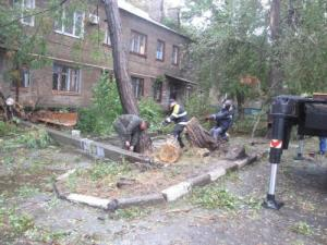 Запорожский ураган покуражился почти на миллион
