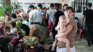 Переселенцы из зоны АТО в Запорожье получили около 4 млн. грн. помощи