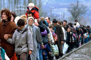 В Запорожской области сегодня проживают 53 тысячи 636 переселенцев с востока Украины