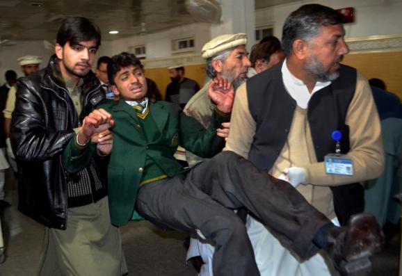 Ужасный теракт в Пакистане - Фото