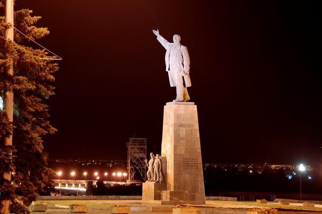 В Запорожской области стало на пять памятников Ленину меньше