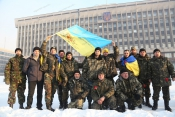 Журналисты-бойцы вернулись в Запорожье из зоны АТО
