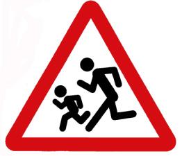 Запорожские школьники чуть не погибли под колесами иномарки