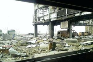 Перестрелка из артиллерии у донецкого аэропорта привела к жертвам с обеих сторон