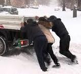 С улиц Запорожья вывезли 424 тонны снега