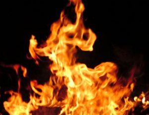 На Новый год Запорожье горело пять раз