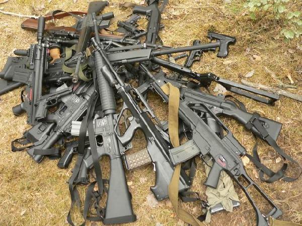 В Запорожской области хотели продать 129 гранат