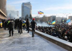 В Запорожье никак не доведут до конца дело о разгоне Майдана