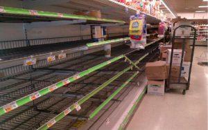 В Запорожье продуктовая паника