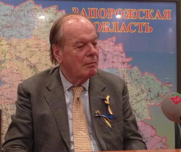 Европейский взгляд на украинскую войну: о чем рассказал британский лорд в Запорожье