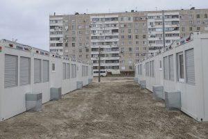 В запорожском модульном городке живет только 90 переселенцев