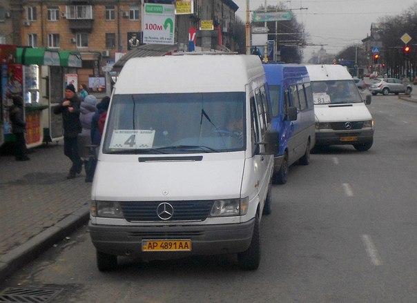 В Запорожье с позором уволили обнаглевшего водителя маршрутки