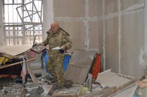 На Луганщине боевики разрушили церковь XIX века
