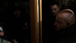 Ночной скандал под «Укрнафтой»: депутата Найема не пустили в здание