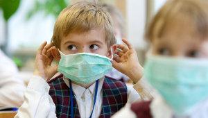 Каникулы уберегли запорожских школьников от гриппа