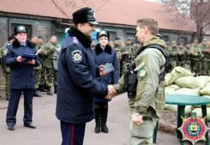 В Запорожье из Мариуполя вернулись бойцы батальона «Скиф»