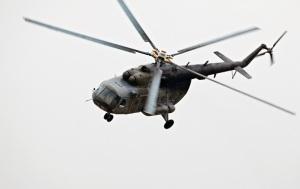 Под Киевом разбился военный вертолет