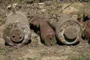 Пять боеприпасов найдены на приусадебном участке запорожцев