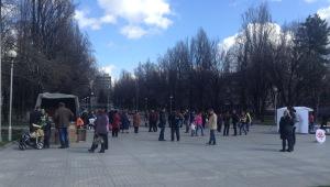 Стартовал фестиваль «Запорожье - город с яйцами». Фото
