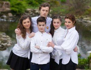 Дети Президента приняли участие в благотворительном концерте в Запорожье