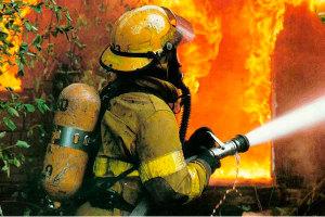 Пожар в хозяйственной пристройке чуть не лишил запорожцев дома