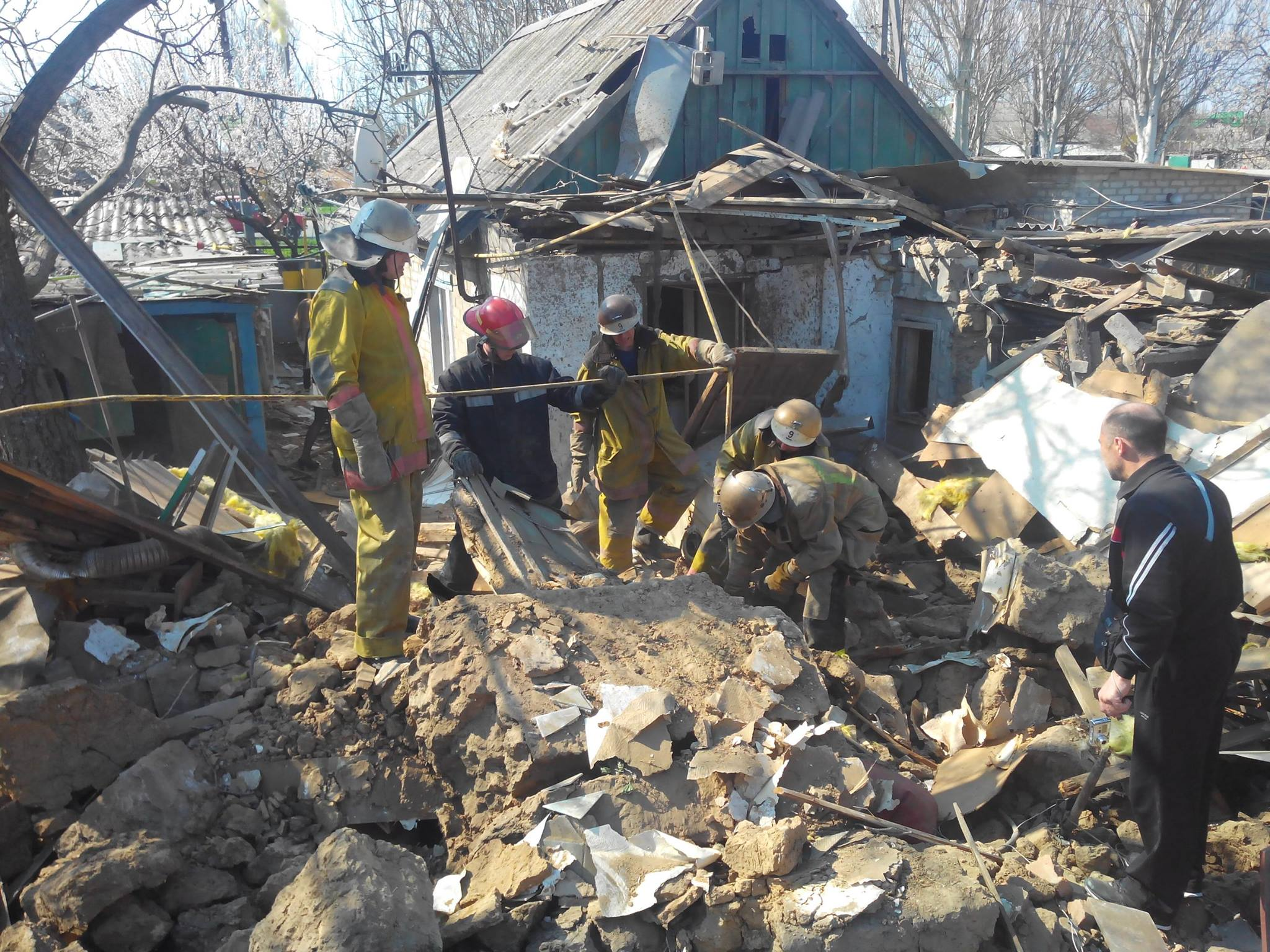 Официально: в результате взрыва в Мелитополе пострадало два человека. Фото