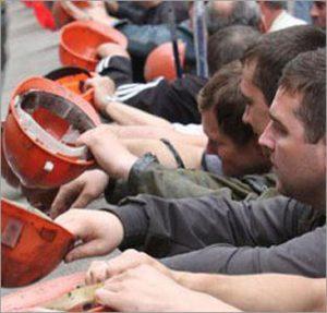 Шахтерам Украины задолжали миллиард зарплаты