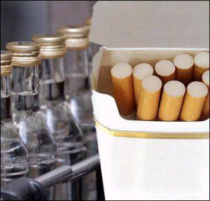 Запорожский бизнес стал больше платить за право торговать сигаретами и алкоголем