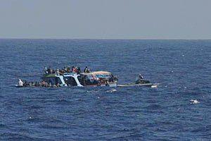 В Средиземном море в результате крушения судна погибло более 700 мигрантов