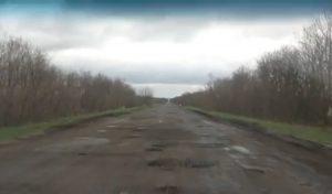 Запорожская трасса приводит в ужас гостей области