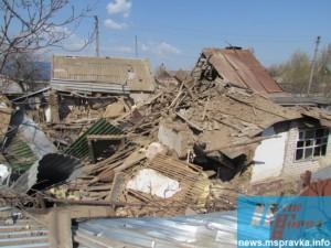 В Запорожской области взорвался дом