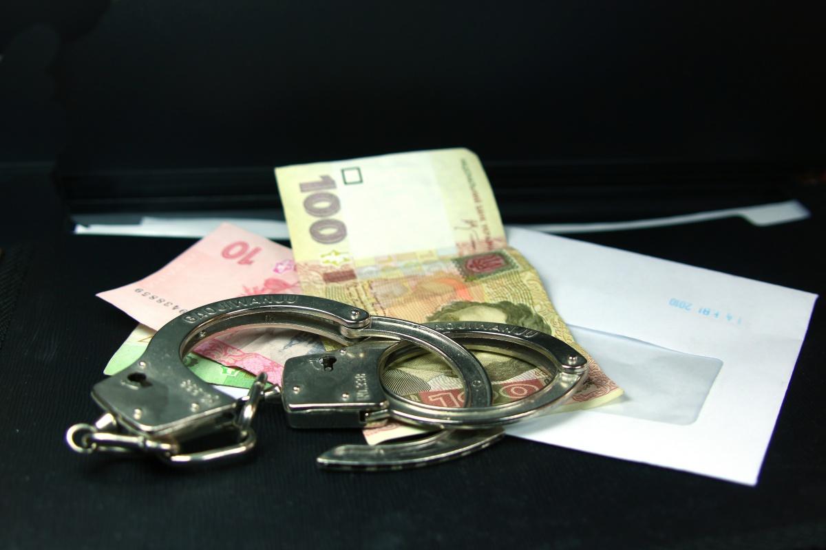 В Запорожской области офицера ВСУ поймали на взятке в 2000 гривен - ФОТО