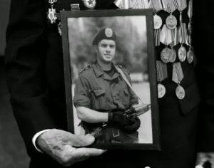 В Запорожье в честь героя АТО Ивана Гутника-Залужного установят памятную табличку