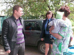 Правоохранители помогли переселенцам Каменко-Днепровки