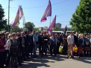 Активисты запорожского Майдана заподозрили в митинге предпринимателей корысть и хитрый план