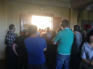 Переговоры с мэром Запорожья для протестующих предпринимателей оказались безрезультатными