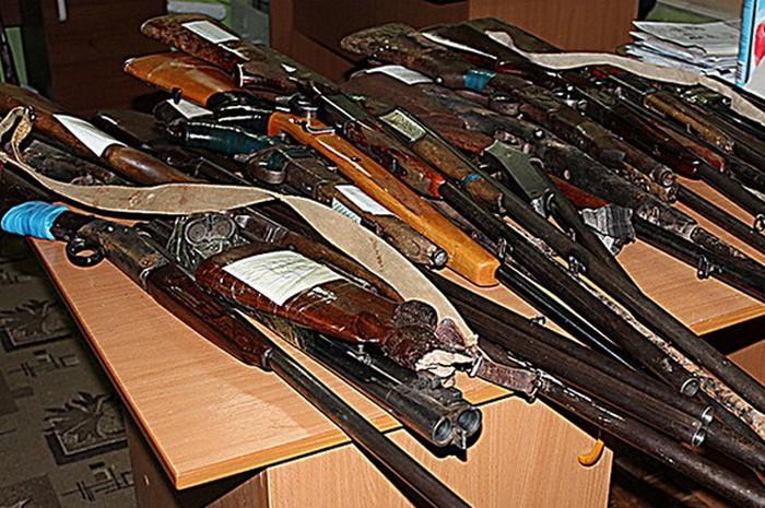 Запорожцы добровольно сдали оружие