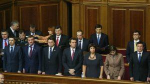 Запорожские нардепы среди инициаторов увольнения трех министров правительства Яценюка