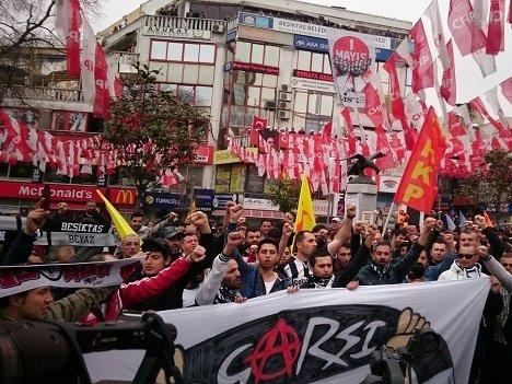 В Стамбуле разогнали первомайскую демонстрацию