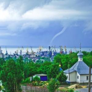 По побережью Азовского моря прошлись смерчи