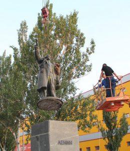 В мелитопольской мэрии рассказали, какие памятники последуют вслед за Лениным