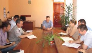 Виктор Ольховский дал наставления бердянским милиционерам перед началом курортного сезона