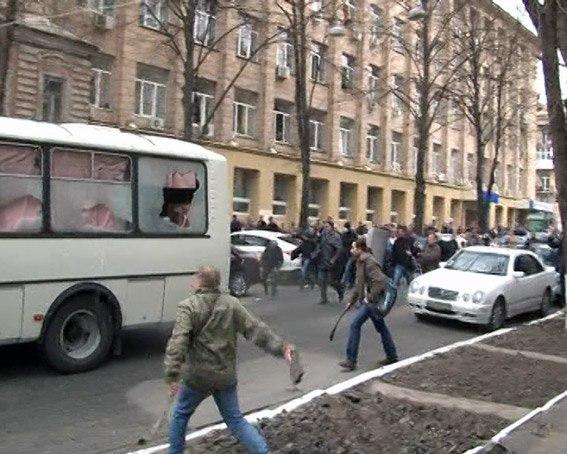 В Запорожской области задержан участник массовых беспорядков в Харькове
