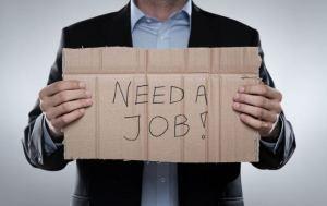 Количество рабочих мест в области все время сокращается