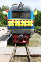 Детская железная дорога попрощалась с выпускниками