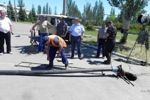Самардак послал подчиненных на курорт ликвидировать аварию