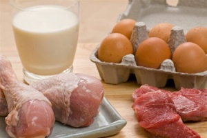 В Запорожской области сократилось производство мяса и молока